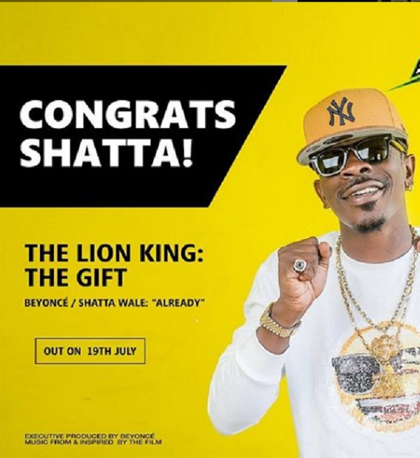 Check out release date for Shatta Wale's 'Already' song with Beyonce