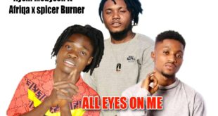 Ayshi Medyson - All eyes On Me Feat. Afriqa x Spicer Burner (Mixed By NileOfAfriqa)